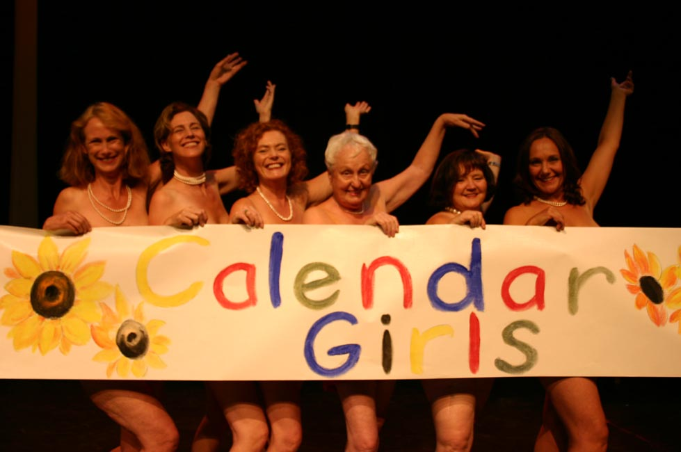 Calendar Girl April Read : Company theatre calendar girls april