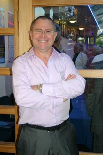 Richard Parmee, Manager of The Rose Centre and Treasurer for Company Theatre